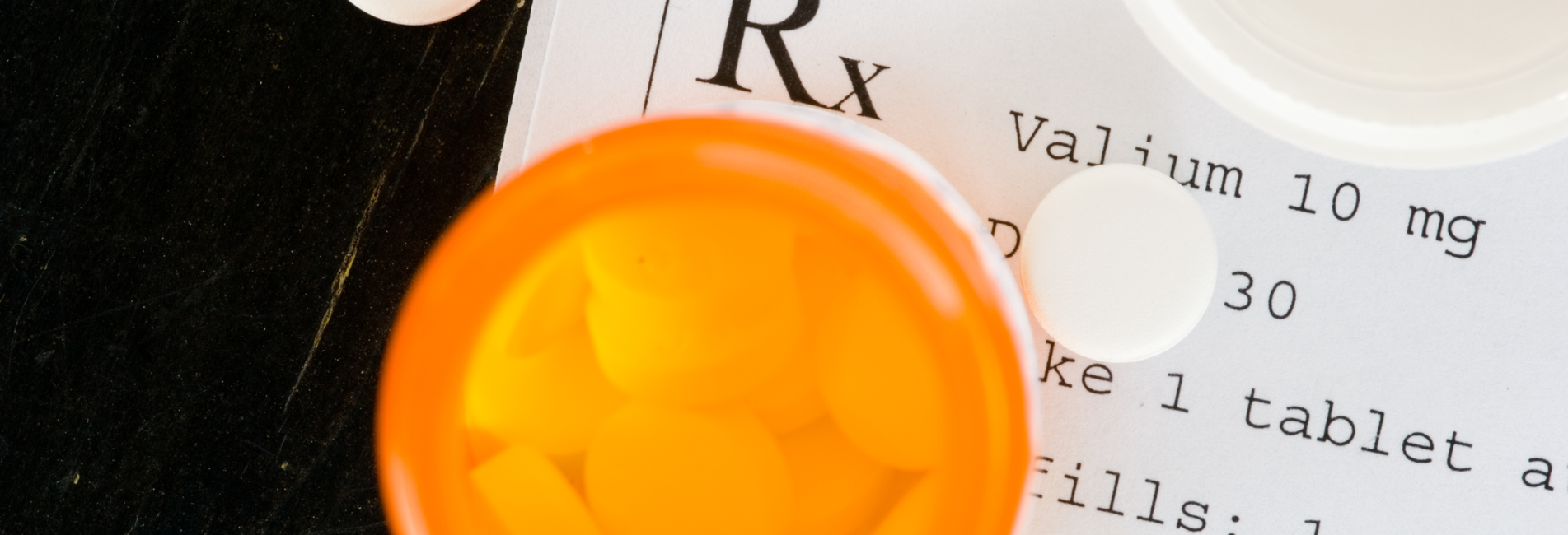 Benzodiazepine Addiction in Costa Mesa CA & Treatment - Resurgence - A image of a Valium prescription, which is a known benzodiazepine and can lead to benzodiazepine addiction in Costa Mesa CA.