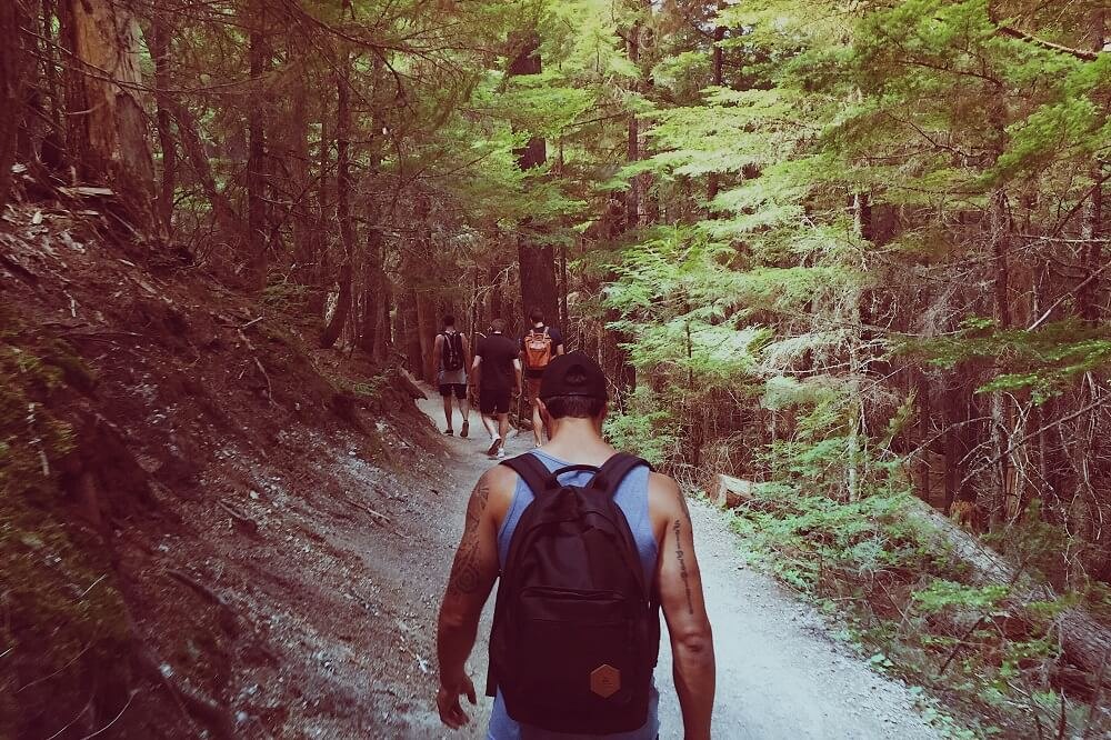 Resurgence Texas hiking trips